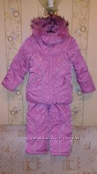 Комбез, куртка и рюкзачок, 110см