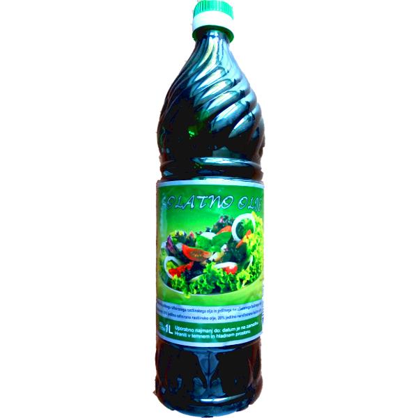 Тыквенное салатное масло