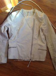 Куртка ветровка экокожа