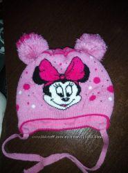шапка на девочку осень зима