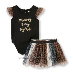 Шикарный комплект для маленькой модницы.