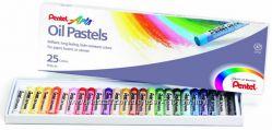 Pentel Arts масляная пастель, 25 цвета Набор