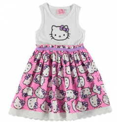 Нарядное пышное платьице HELLO KITTY для вашей принцессы