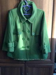 Куртка-полупальто-жакет идеально для беременных разм L состояние нового