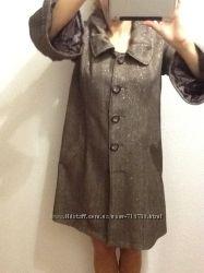 Деми пальто CHOKLATE разм М классика темно-коричневое