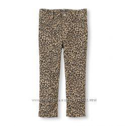 Яркие скини и джегинсы американских брендов для маленьких модниц  2т 3т