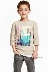 Свитшот H&M на 8-10 лет. Принт New York