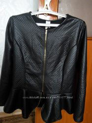 Фирменная курточка баска. Имитация кожи