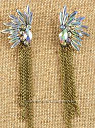 Длинные серьги. Разные цвета