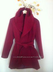 Пальто тренч цвета марсала хит сезона