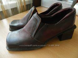 Туфли новые уценка кожаные 36р