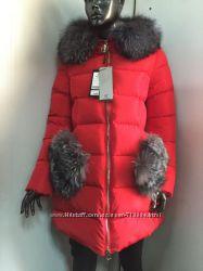 Стильное пальто с чернобуркой