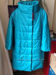 Зеленое  пальто  р. 44-50 . Есть цвета