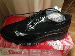 Туфли броги-оксфорды на шнурках р. 38 по стельке 25 см