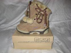 Сапоги ботинки термо Hi-Tec Waterproof  32 размер по стельке 20, 5 см. Кожа