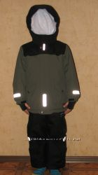 POLARN Зимний костюм куртка, комбинезон, аналог Рейма Reima Tec, р. 110