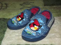 Тапочки для дома садика Angry birds