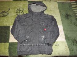Тёплая куртка, парка Trespass на мальчика 3-4 года