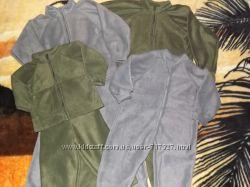 Новые флисовые костюмы, костюмчики, комбенизоны, поддёва.