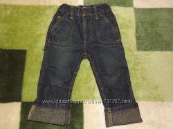 Фирменные, стильные джинсы на мальчика LUPILU. 74-80 рр.