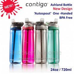 Бутылка для воды Contigo Ashland. Разные цвета.