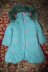 Пальто зимнее в идеальном состоянии на р, 100-115см