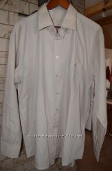 Рубашка песочного цвета XXL - 45-46 размер