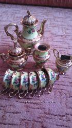 Новый сервиз чайный, кофейный 12 предметов в наборе