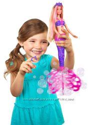 кукла Барби русалочка мыльные пузыри