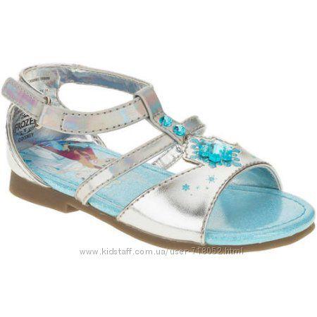 обувь Frozen Холодное сердце голубые сандали