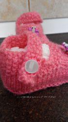 Вязание тапочки