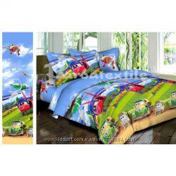 Продам детские комплекты постельного белья полуторные.