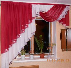 Шикарная штора на кухню