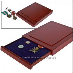 Деревянный бокс для значков, орденов, медалей - Safe Германия