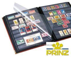 Альбом для марок Prinz Royal - 60 страниц - натуральная кожа