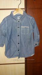 GAP рубашка 9-12 мес