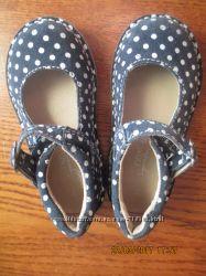 Next. Туфли для девочки из замшевой кожи, по стельке 15, 7 см.