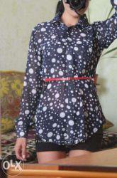 Блуза новая- шифон
