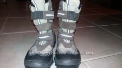 Сапоги  для мальчика на липучках 35 - 35, 5 р. gore-tex CLARKS цена снижена