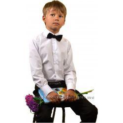 Школьная рубашка для мальчика. Белый. В наличии