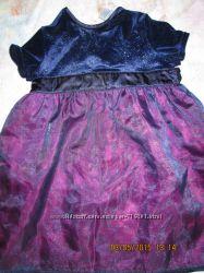 нарядное, очень красивое платьице TESCO на 2-3 годика