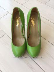 Красивые туфли YSL  люкс копия