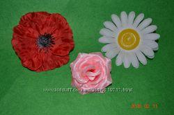 Красивые Цветочки для веночков, заколок, костюмов и прочего