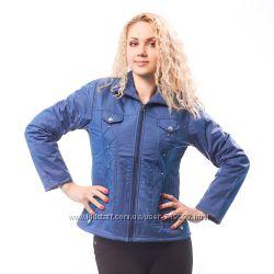 Куртка женская демисезонная синяя