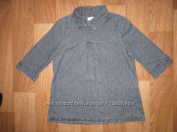 Кофта - туника - рубашка - блуза джинсовая