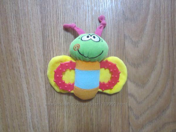 Мягкая игрушка погремушка - грызунок