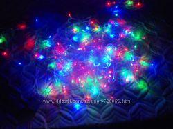 Гирлянда LED светодиодная на 100, 160, 200, 300, 400, 500, 600, 700 ламп Mi