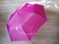 Зонт зонтик полуавтомат изнутри золотистый