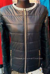Куртка БУСИНКИ, черная 46р в наличии.