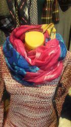Вискозные шарфы-хомуты